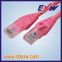 Quality Cat6 Patch Cord UTP Red LSOH wholesale