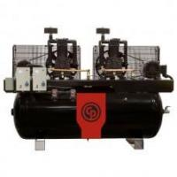 Quality Chicago Pneumatic 10-HP 120-Gallon Two-Stage Duplex Air Compressor (208/230V 1-Phase) wholesale