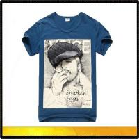 China Printed t-shirts new design 3d t shirts for men,fashion cotton on sale