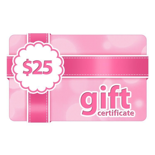 Cheap $25 Gift Certificate for sale