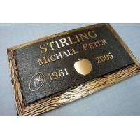 China Custom bronze castings, Cast bronze plaques. on sale
