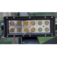 China 7.5inch CREE Off-Road Auxiliary Lighting LED Work Light Bar - 36W Flood Beam on sale