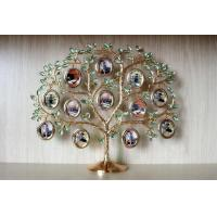 Quality Metal funny lovely family tree collage photo picture frame wholesale