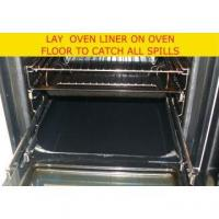 China PTFE Coated With Fiberglass Fabric Non-stick And Reusable Oven Mat Contact With Food Directly on sale