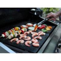 Quality Ptfe Non-stick Reusable BBq Grill Mat/Liner wholesale