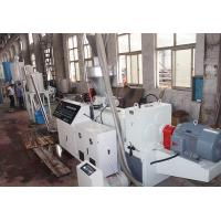 Quality Good quality WPC pelletizing line with conical twin screw wholesale