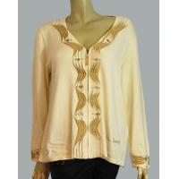 Buy cheap Ruffle beads placket cardigan sweater from wholesalers