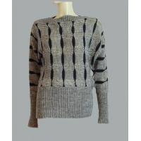 Buy cheap Off neck Jacquard sweater from wholesalers