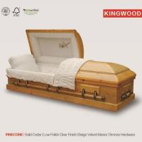 Buy cheap Kingwood China Made bulk buying wood casket and coffin from wholesalers