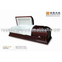 Buy cheap LONG LIFE solid wood caskets from wholesalers