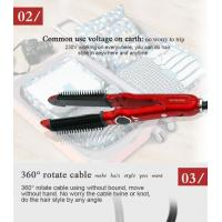 Quality Professional Red Hair Straightener And Curler With CE ROHS wholesale