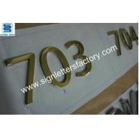 Buy cheap polished brass sign letters 08 product