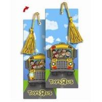China 3D Lenticular bookmark Back to school and the wheels on the bus go round and round flip animation on sale