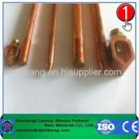 Buy cheap Copper plated Steel Grounding Rod product