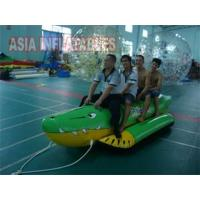 Quality Crocodile Ride Banana Boat 4 Passengers wholesale