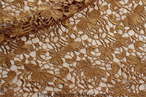 Cheap Fashion Design! Good Price And Quality Crochet Lace Fabric 100% Polyester Guipure Fabric For Summer for sale