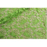 Quality New Arrival Gorgours Design Lime African Lace Guipure Fabric For Wedding Dress wholesale
