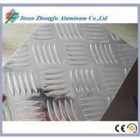 China China 5 Ribs Aluminum Checker Plate Sheet Metal Coil For Anti-Slip Floor on sale