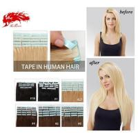 China Ali Queen Tape In Hair color 8 Straight Hair Human Hair Extention Color Hair Free Shipping on sale