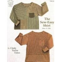 China ON SPECIAL...The Sew-Easy Shirt pattern book by Cindy Taylor Oates on sale
