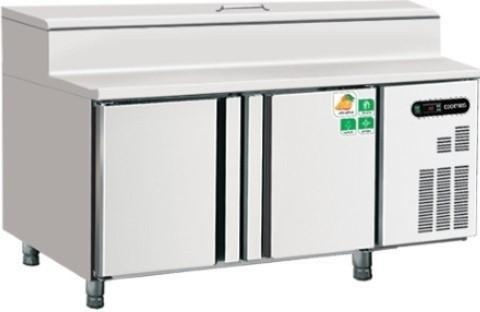 China GN 2 DOOR UNDER COUNTER CHILLER