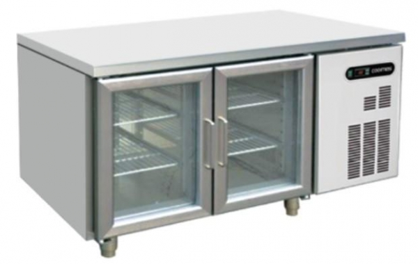 China GN 2 GLASS DOOR UNDER COUNTER CHILLER