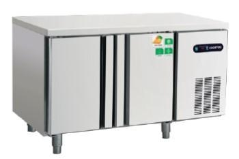 China GN 2 DOOR UNDER COUNTER FREEZER