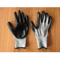 Quality cut resistant glove with nitrile coated wholesale