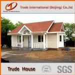 Quality Steel building cement foam sandwich panel prefab villa wholesale