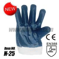 Quality Nitrile Oil Resistant Gloves Cotton Cold-proof Coated Gloves wholesale