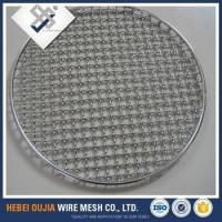 excellent quality circle woven barbecue grill wire mesh