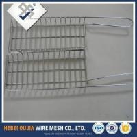 Cheap electric galvanized barbecue grill wire mesh with stand for sale