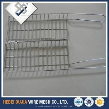 Cheap smokeless stainless steel barbecue grill wire mesh chrome plated for sale