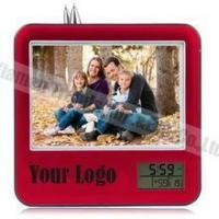 China couples alarm clock funny pictures/picture frame desk clock on sale