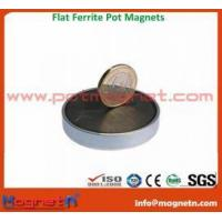 Buy cheap Ferrite Button Cup Magnet product