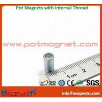 China Strong Pot Magnet with Screw Internal Thread on sale