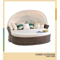 Buy cheap Resort Style Furniture patio lounge with footstool OMR-H083 from wholesalers