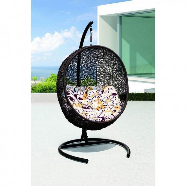 Cheap patio rattan egg chair garden swing chairs manufacturer OMR-C047 for sale