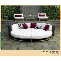 Buy cheap Cabana Club Wicker Woven Aluminum lounge chair furniture OMR-H084 from wholesalers