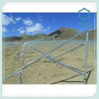 Buy cheap Aluminium Solar Panel Mounting Structure 6000 Series from wholesalers