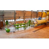 Buy cheap 10 T batch type waste tyre(plastic) pyrolysis plant from wholesalers