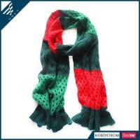 Quality winter scarf knitting patterns Winter Knitted Scarf wholesale