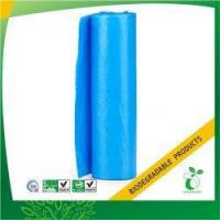 Quality Blue Bin Liner Biodegradable Garbage Bag on Roll Model No:BPB-BL-28 wholesale