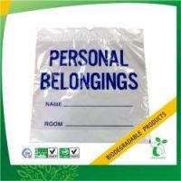 Quality Healthcare Plastic Personal Belonging Bag Model No:PBB-35 wholesale