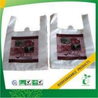 Quality Custom Biodegradable Eco Plastic Bag Model No:BPB-TSB-34 wholesale