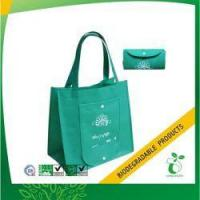 Buy cheap Pocket Foldable Shopper Tote for Supermarket Model No:ECOBAG-NWBA-SM09 from wholesalers