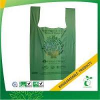 Buy cheap EN13432 Certified Biodegradable Plastic Bag Model No:BPB-TSB-15 from wholesalers