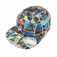 Quality Flat Visor Cap, Various Colors, Styles and Designs are Available wholesale
