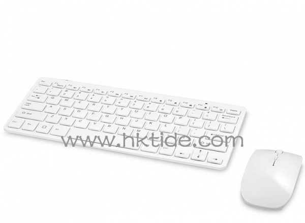 Cheap Wireless keyboard Gtide ultra slim 2.4Ghz wireless keyboard and mouse combo-01 for iMac and PC for sale