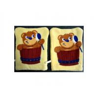 Quality Washing Mitten Made With Velour Fabric wholesale